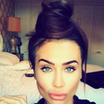 Lauren Goodger lips pout instagram selfie
