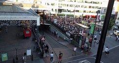 Brighton station shut