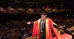 Peter Kay honorary doctorate from Salford Universi
