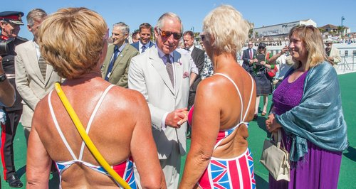 Prince Charles in Cornwall, Penzance