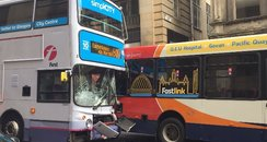 Glasgow bus crash