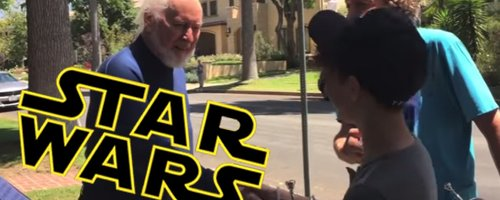 Star Wars John Williams teenagers viral video
