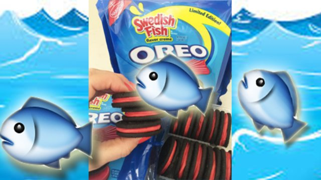 Swedish fish flavour oreos have us scratching our heads for Swedish fish oreos where to buy