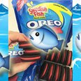 Swedish Fish Flavour Oreos Canvas