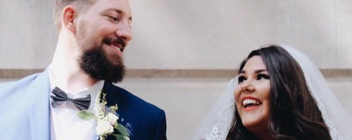 Callie Thorpe blogger fashion wedding dress