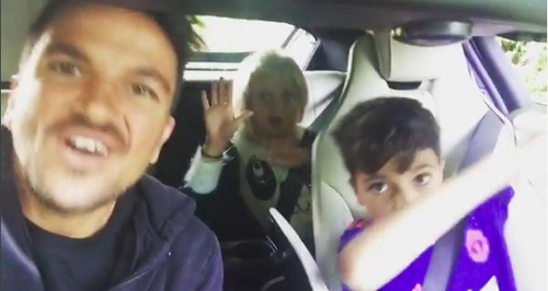 Peter Andre Kids Carpool Karaoke