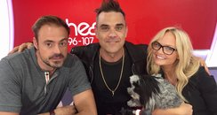 Robbie Williams With Jamie And Emma