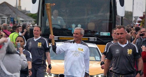 Saltash Olympic Torch