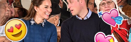 William and Kate Loved Up Canvas