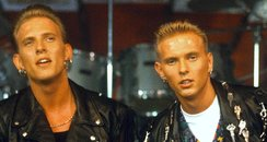 Bros group Matt and Luke Goss