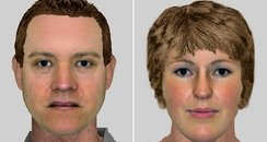 Efits of 2 suspects who robbed 81 year old man