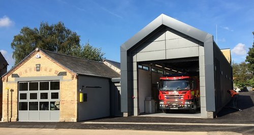 Yaxley Fire Station