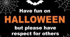 Dorset Police Halloween 2016 poster