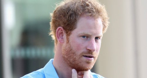 Prince Harry Wearing Matching Bracelet
