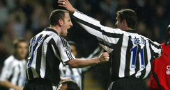 Andy O'Brien and Gary Speed
