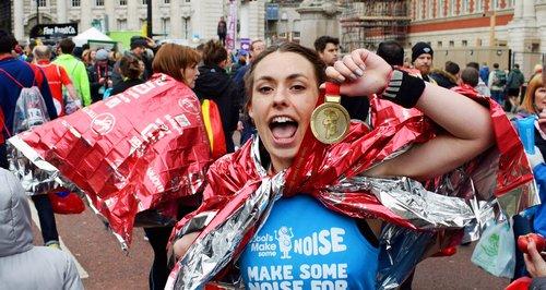 Claire Chambers London marathon