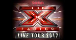 X Factor Live Tour 2017 canvas