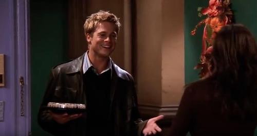 Brad Pitt Thanksgiving Friends Episode