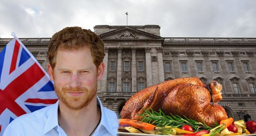 Prince Harry Buckingham Palace food