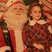 3. Lilly Collins Shares Cute Throwback Of Her Time With Santa