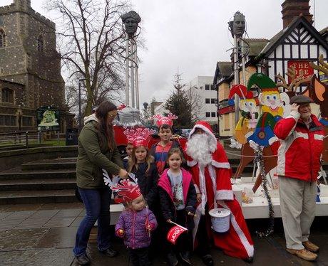 Rotary Club Santa Float 2016