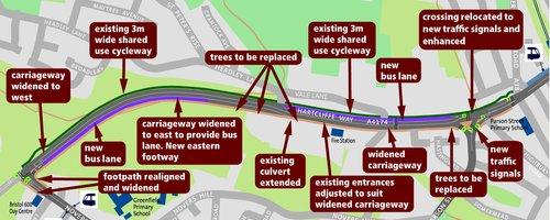Hartcliffe Way Road Works 2