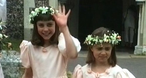 Kate Middleton and Pippa Middleton bridesmaids 199