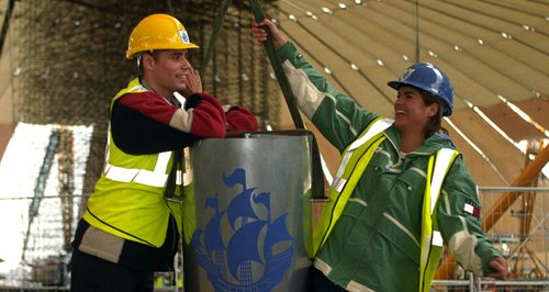 Blue Peter time capsule has been dug up