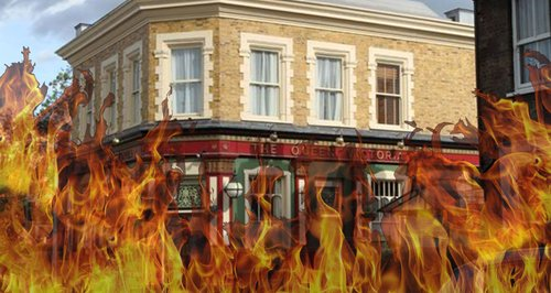 Old Vic Fire