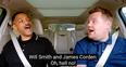 Will Smith and James Corden Carpool Karaoke