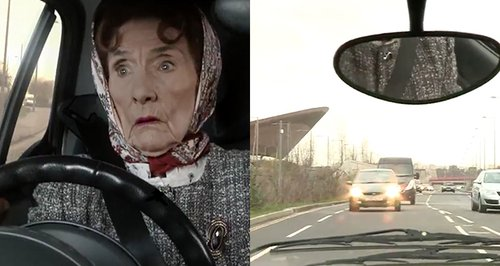 Dot Cotton car crash