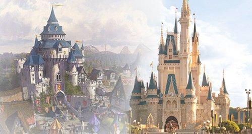 Paramount UK Disney Theme Park