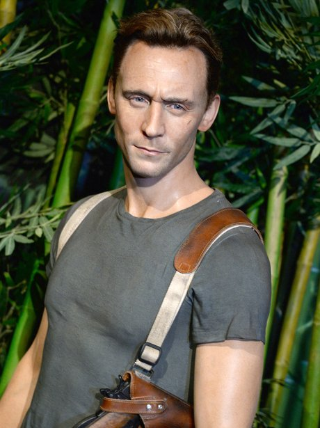 Tom Hiddleston waxwork