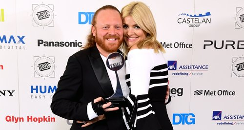Keith Lemon and Holly Willoughby