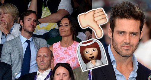 Spencer Matthews not allowed a plus one to Pippa M