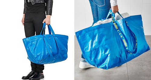 Balenciaga's $2145 bag bears striking resemblance to Ikea's 99-cent tote