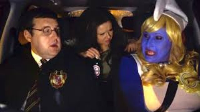 peter kay u0026 39 s car share gets even better thanks to drunk smurfette and the  u0026 39 now 48 u0026 39  effect