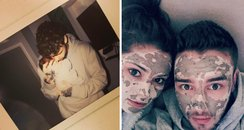 Liam Payne and Cheryl fine