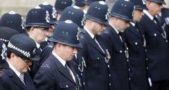 Police officer memorial