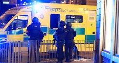 Manchester Explosion Ambulance