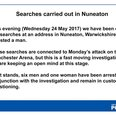 Manchester Attack Nuneaton arrest