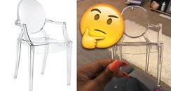 Woman Buys Chair And It Turns Up 6 Inches Tall