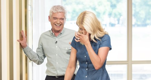 Holly Willoughby Nearly 'Wets Herself' This Mornin