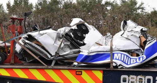 Lorry driver in court over M1 crash deaths