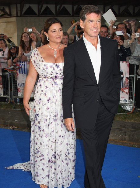 Pierce Brosnan And Keely Smith