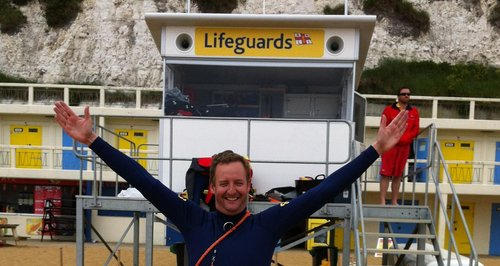 James becomes a Lifeguard 1